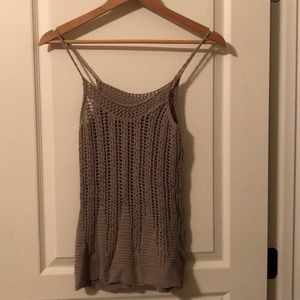 Express sweater knitted tank top. GUC Sz XS